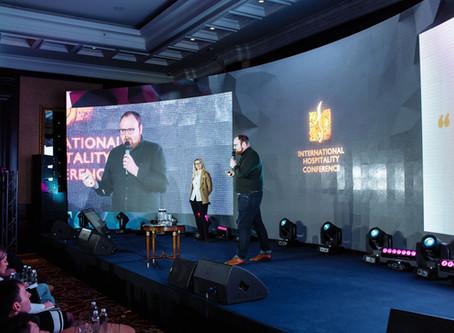 Heleri Rande & James Hacon keynote International Hospitality Conference
