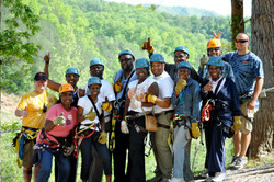 Our First Zip Lining Adventure