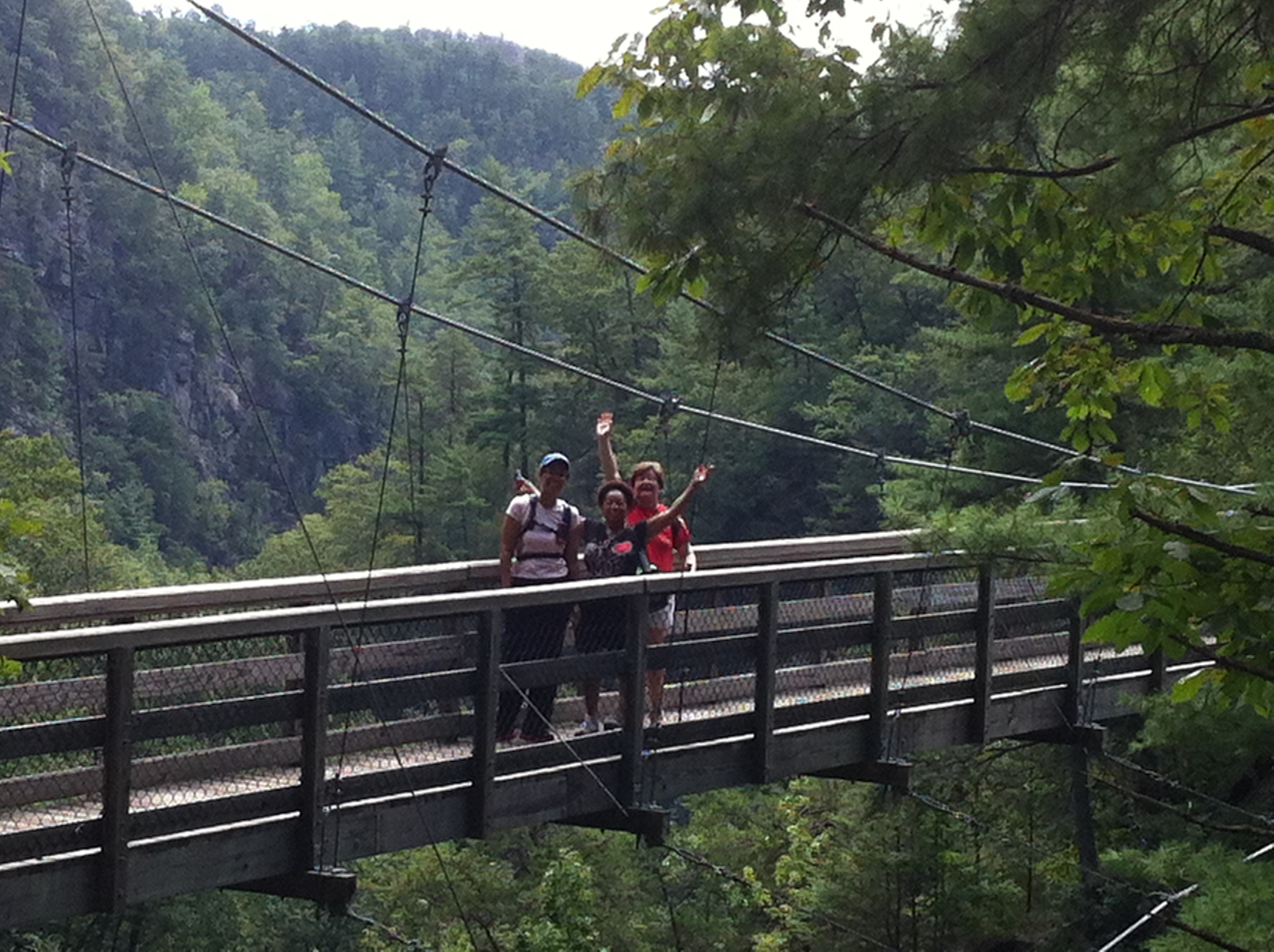 Tallulah Gorge Swing Bridge