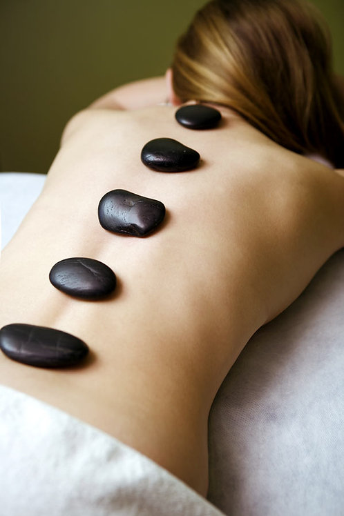 Hot Stone Back Massage (30 mins)