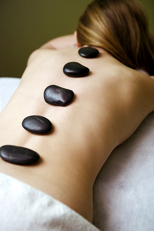 Terra Nova Spa offers Relaxation Massaages - scalp & spine therapy, aromatherapy massage and hot stone massage