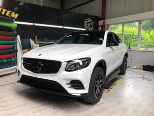 ANOTHER DE BRUYNE WRAP ?MERCEDES GLE - SATIN PEARL WHITE