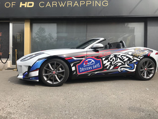 Jaguar F-Type Half-Wrap