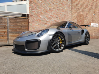 Porsche GT2 RS FULL XPEL PAINT PROTECTION
