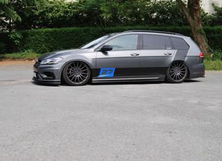 Volkswagen Golf Break Striping