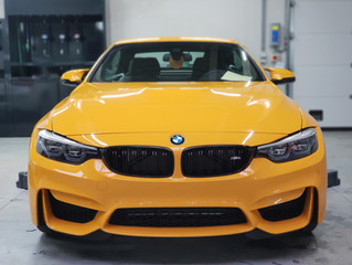 BMW M4 - 30 jahre - FRONT PROTECTION FILM