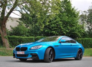 BMW 640d ATOMIC TEAL