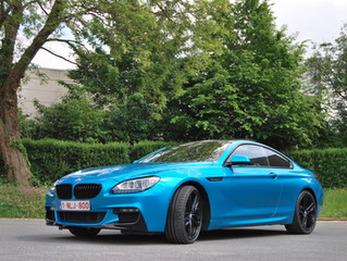 BMW 640d ATOMIC TEAL