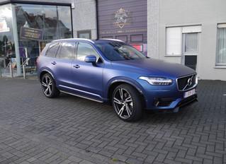 Volvo XC90 Matte Treton Blue