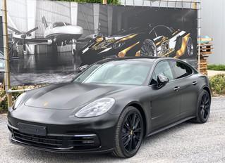 AGGRESSIVENESS on another level !  Porsche Panamera - Satin Black