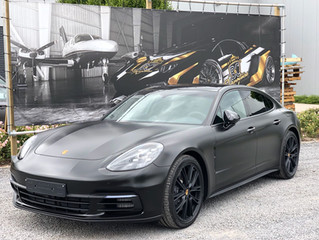 AGGRESSIVENESS on another level !  Porsche Panamera - Satin Black