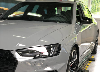 RISE OF THE PPF - AUDI RS4 - FRONT PROTECTION PLATINUM PACK by XPEL