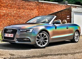 Audi A5 - Gloss Flip Psychedelic