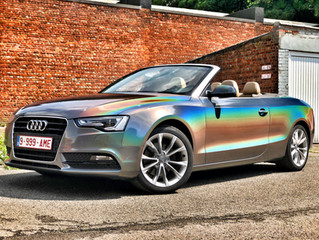 Audi A5 - Gloss Flip Psychedelic