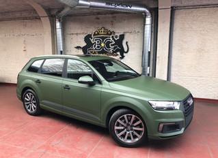Audi Q7 E-Tron Military Green