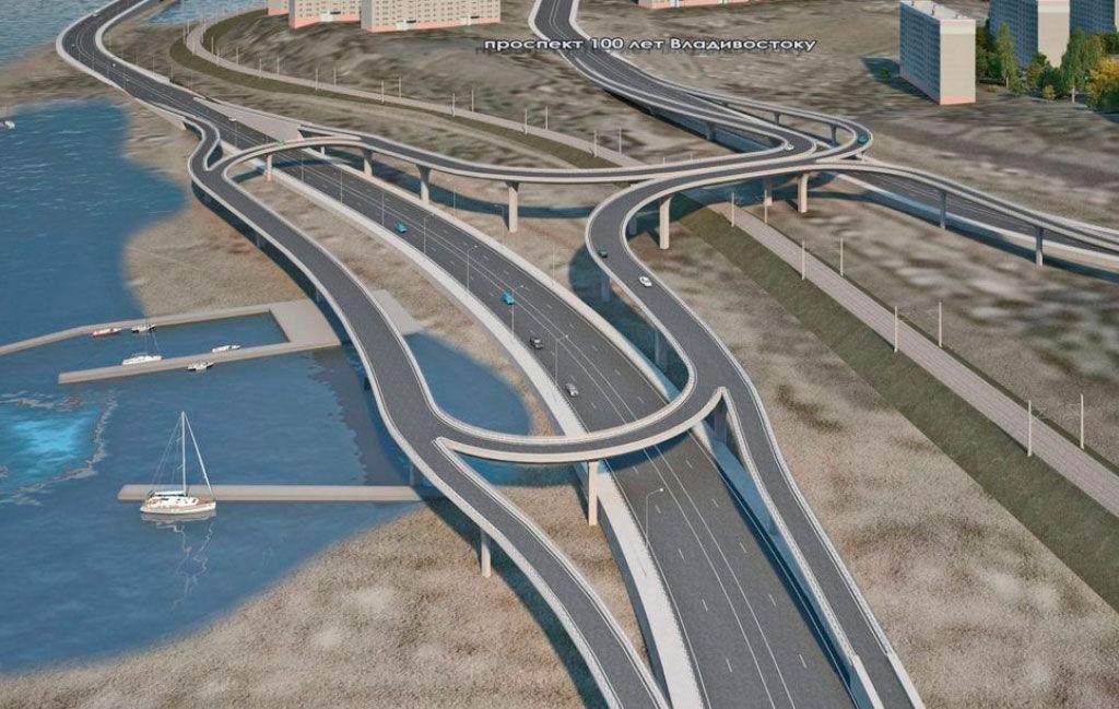 Проект объездной дороги.