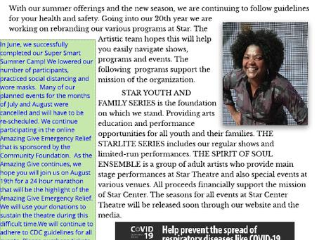 July / Aug 2020 Newsletter
