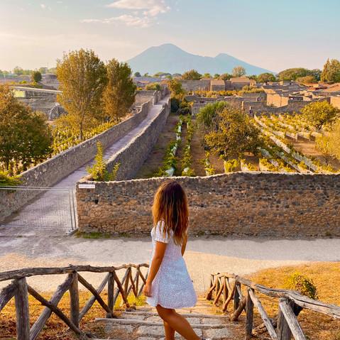 Sur les traces de Pompei