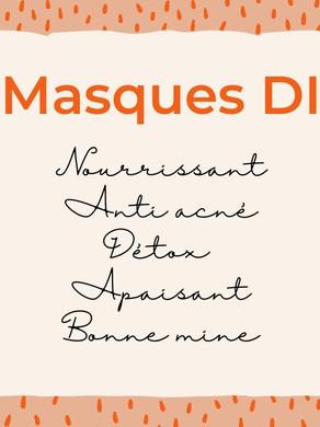 5 recettes DIY - Masque visage