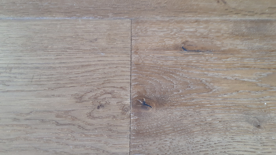 White Oak Handsawn and Scraped