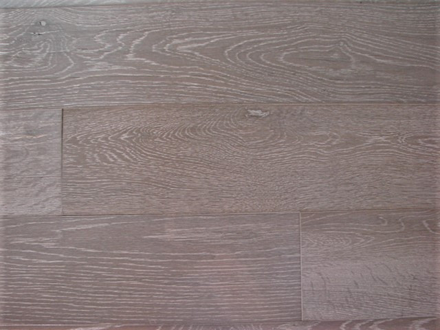 Oak Light Grey - Wirebrushed_
