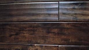 Acacia Olive Green - Handscraped Solid