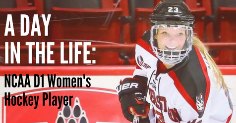 hayley masters, d1 womens hockey,