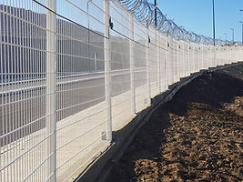 Military Base PIDS Fence