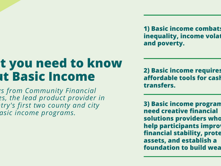 Thinking about Guaranteed Income? Here is what you need to know.