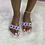 """Thumbnail: """"MIA"""" Multi Color Sandal"""