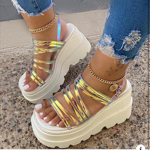 """Prissy"" Platform Sandal"