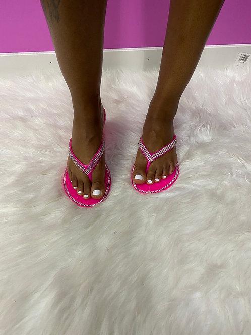 """Passion"" Pink Diamond Sandal"