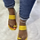 "Thumbnail: ""LENA"" Mustard Yellow Sandal"