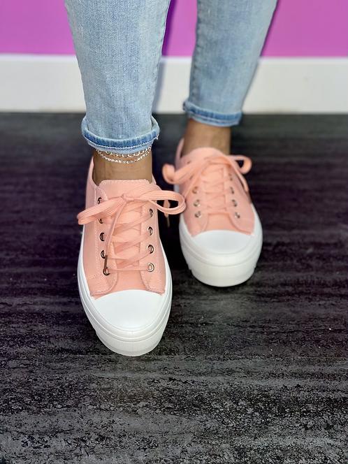 """CANDI"" Blush Sneaker"