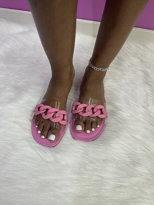 """""""MIA"""" Pink Sandal"""