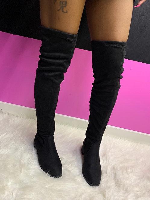 """""""NOIR"""" Thigh High Boot"""