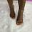 "Thumbnail: ""PARIS"" Nude Strappy Heel"