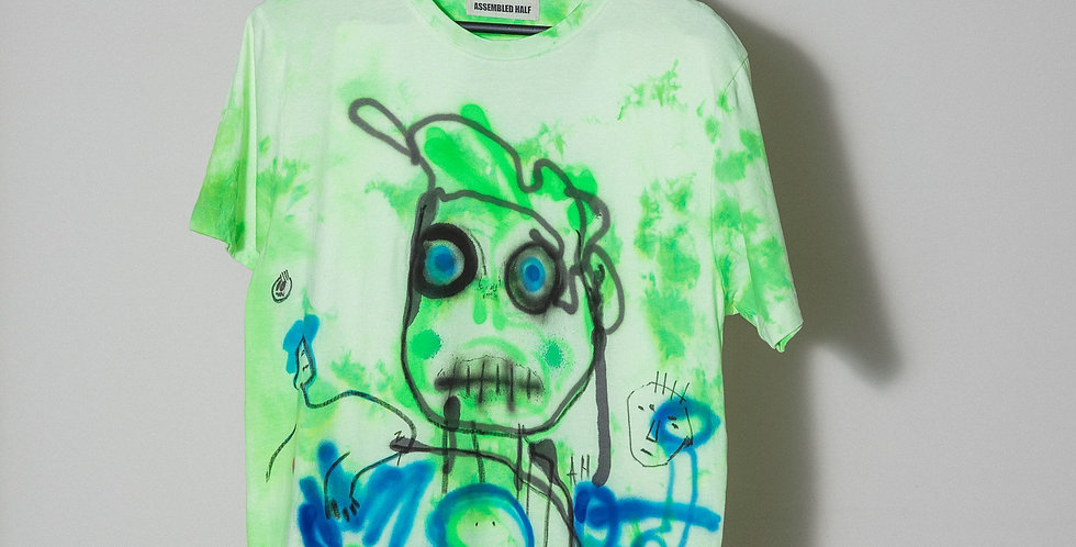 A/H Hand dyed t-shirt. Nr6
