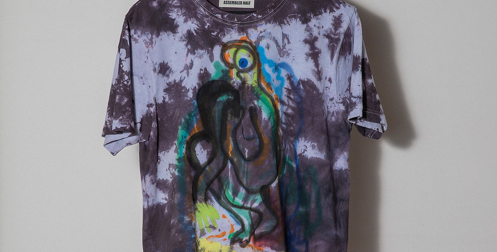 A/H Hand dyed t-shirt. Nr5
