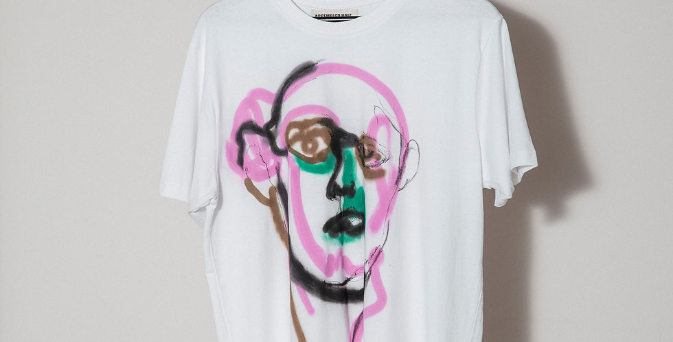 Face Hand painted T-Shirts Nr 8