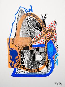 canvas 30x40cm,2016,sojin park