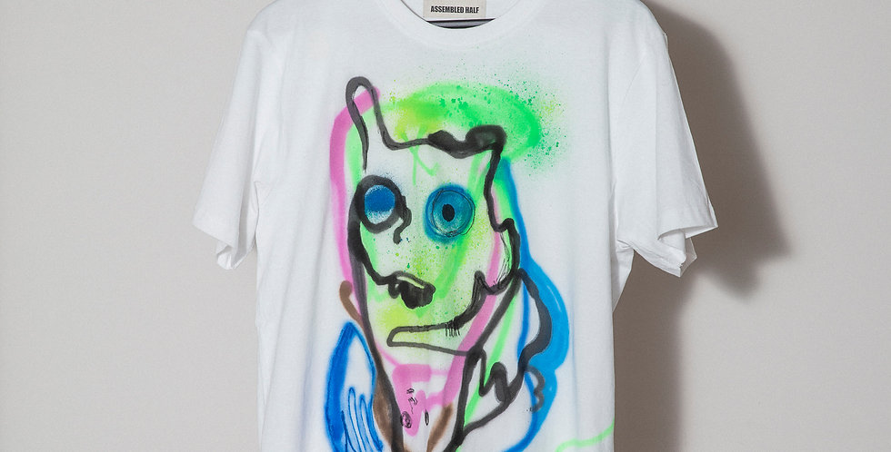 Face Hand painted T-Shirts Nr.13