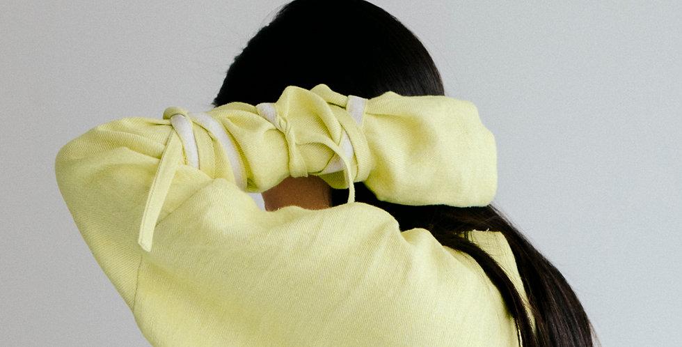 lemon banding linen Top
