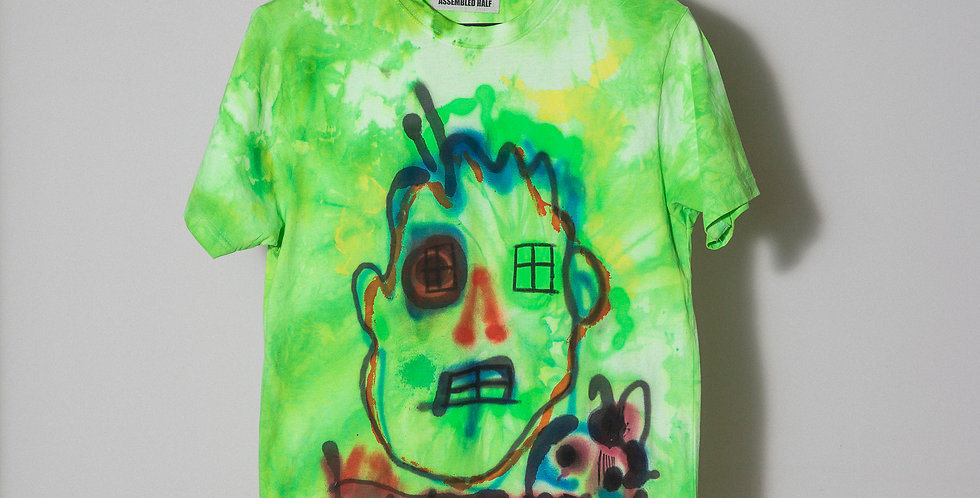 A/H Hand dyed t-shirt. Nr1