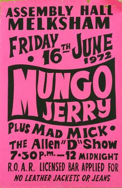 Mungo Jerry/Mad Mick
