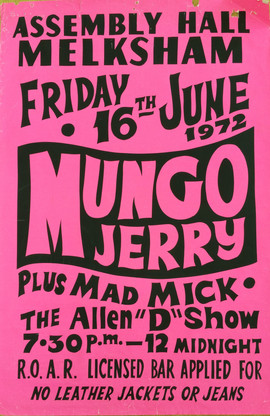 Mungo Jerry/Mad Mick