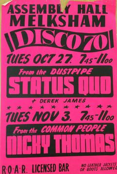 Status Quo/Nicky Thomas