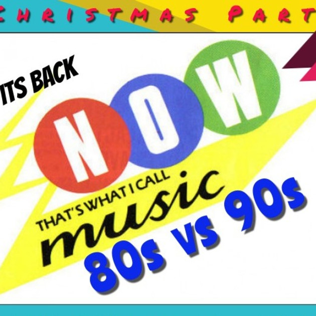 The 80s Vs. 90s Christmas Party