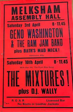 The Mixtures/Geno Washington