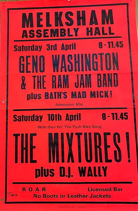 The Mixtures/Geno Washington